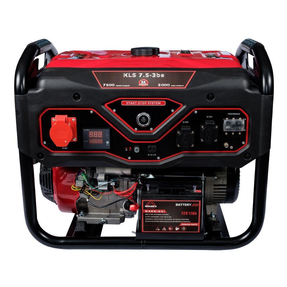 Генератор бензиновый Vitals Master KLS 7.5-3be (2019)
