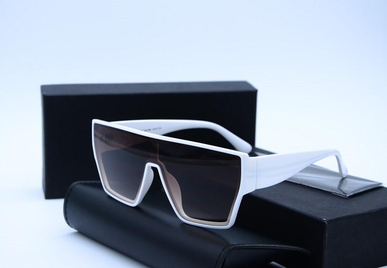 Женские солнцезащитные очки Маска Alese 9420 белые