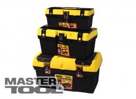 """MasterTool  Ящик для инструмента 12,5"""" (330*175*145 мм), металлические замки, Арт.: 79-2038"""