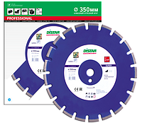 Отрезной сегментный диск (бетон) 1A1RSS/C1-W SUPER 350x3,2/2,2x25,4-11,5-21-APR 40x3,2x8+2 R165