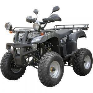 Квадроцикл  SP175-1А  (колір - чорний, синій) /SP175-1А camo (колір - камуфляж)