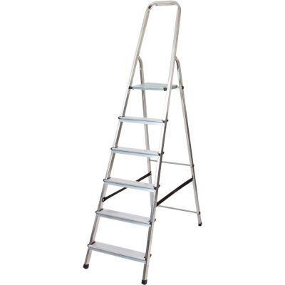 Лестница Drabest алюминиевая 6 ступенек DRALD-6, 10106A