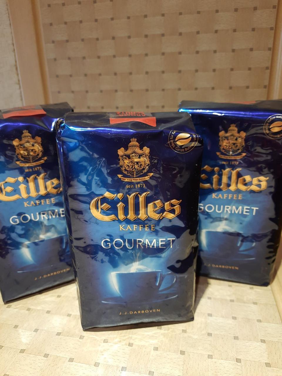 Кофе зерно Eilles Gourmet 500г Арабика 100% (Германия) - 155 грн