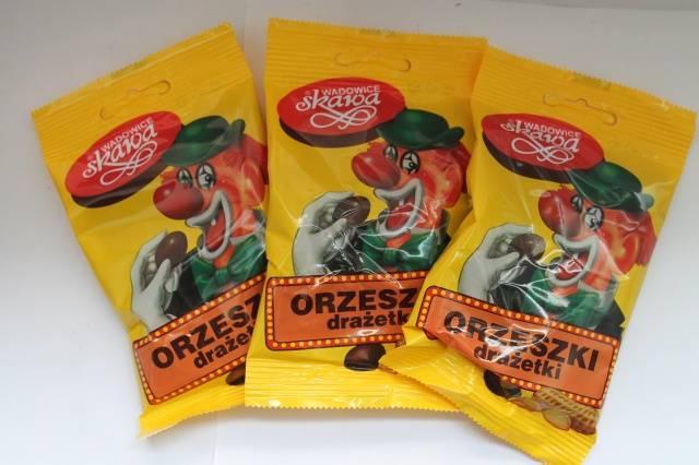 Драже-арахис в шоколаде Клоун 60г (Польша) - 12 грн