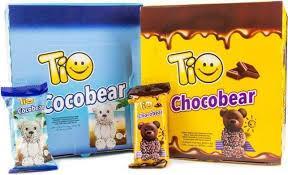 Бисквит TiO CHOCOBEAR в шоколадной глазури/ с кокосовой стружкой 60г. (Турция) - 12 грн