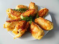 Рулетики куриные с сыром в кляре 100г