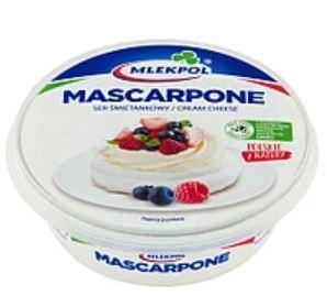 Сир маскарпоне Маѕсагропе Mlekpol 250g - 75грн