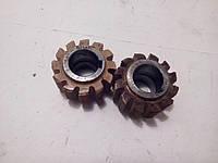 Фрезы червячные чистовые М1 (2520-0667)30 градусов для шлицевых валов с эвольвентным профилем ГОСТ 6637-80.