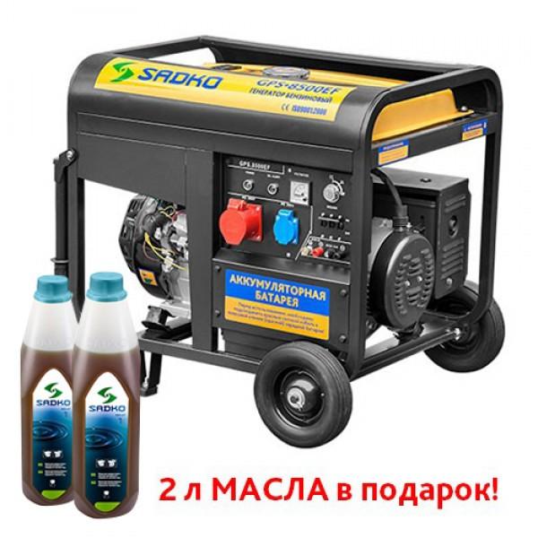 Генератор Sadko GPS-8500EF