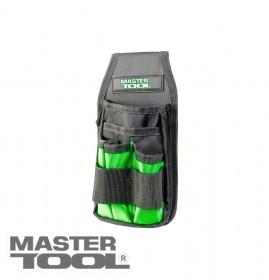 MasterTool  Сумка поясная для инструментов 250*120 мм, 1680 DEN, 6 карманов, Арт.: 79-1932
