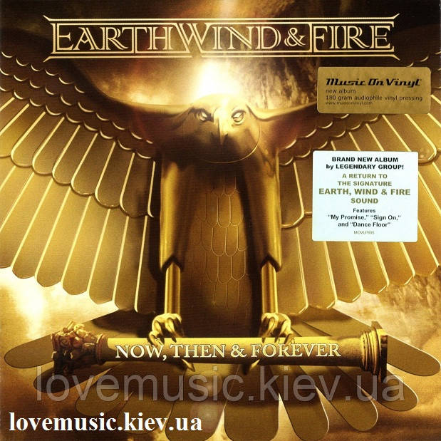 Вінілова платівка EARTH, WIND & FIRE Now, then & forever (2013) Vinyl (LP Record)