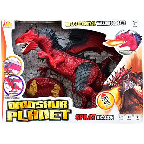Динозавр на радіоуправлінні зі світловими ефектами