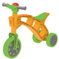 Велобег ролоцікл жовтий