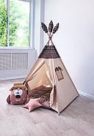 Вігвам дитячий ігровий намет «Мишкина берлога» домик для игр детская игровая палатка вигвам