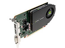 Видеокарта NVIDIA Quadro 2000 (1GB GDDR5, 128bit, DVI, 2xDisplayPort, DirectX 11, OpenGL 4) PCI-Ex 2.0