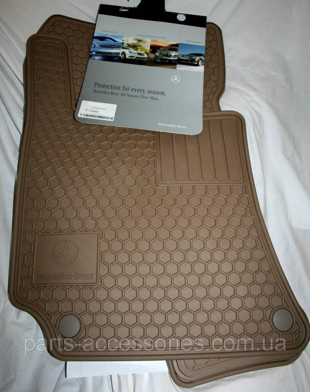 Mercedes E W211 W 211 4Matic коврики резиновые передние задние новые оригинальные