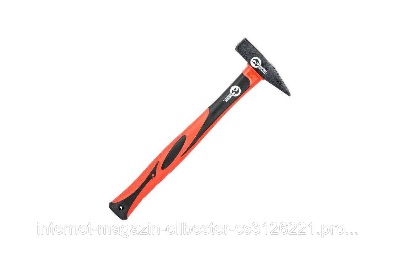 Молоток Intertool - 300 г, ручка стекловолокно