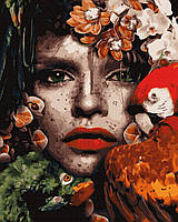 Картина по Номерам Взгляд амазонки 40х50см BrushMe