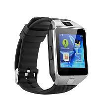 Умные часы Smart Watch DZ09 Silver SWDZ09S, КОД: 148804