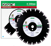 Отрезной сегментный диск (асфальт) 1A1RSS/C1S-W SPRINTER PLUS  300x2,8/1,8x25,4-11,5-18-APR 40x2,8x8+2 R140