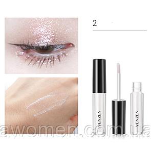 Жидкий глитер для глаз Venzen Streamer 2 g (№ 2)