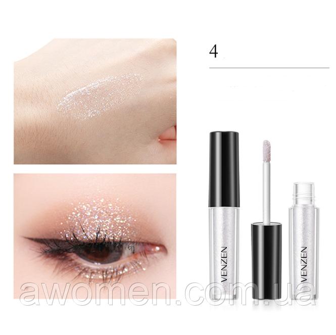 Жидкий глитер для глаз Venzen Streamer 2 g (№ 4)