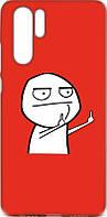 Чехол-накладка TOTO Cartoon Soft Silicone TPU Case для Huawei P30 Pro FK2 Red 97098, КОД: 1302144