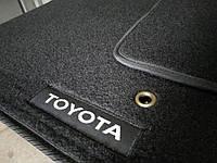 Коврики в авто, автоковрики TOYOTA Land Cruiser Prado 120 (2002>) ворсовые на резиновой основе