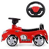 Машина Толокар 536 детская с резиновыми колесами, фото 3