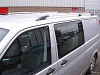 Рейлинги на Volkswagen Transporter T5 металл наконечник