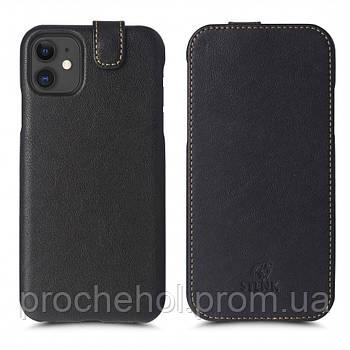 Чехол флип Stenk Premium для Apple iPhone 11 Чёрный