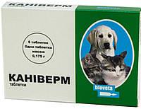 Каниверм Таблетки для цуценят і кошенят, 6 шт