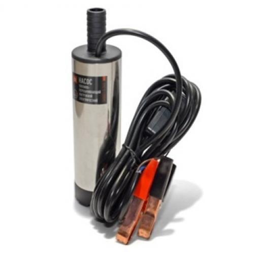 Насос для перекачки топлива погружной электр. 12В/20л/d38 Dk