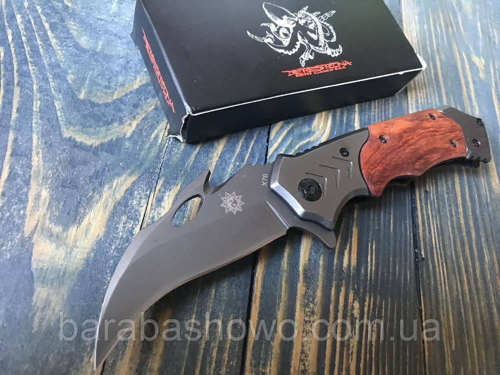 """Складной нож керамбит  """"Hawk Claw"""" X-76"""