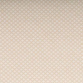 Ткань для мебели шенилл с узором мелкий робм Регент (Regent) белого цвета
