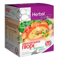 Пюре картофельное с жареным луком - обогащенное витаминами и минералами