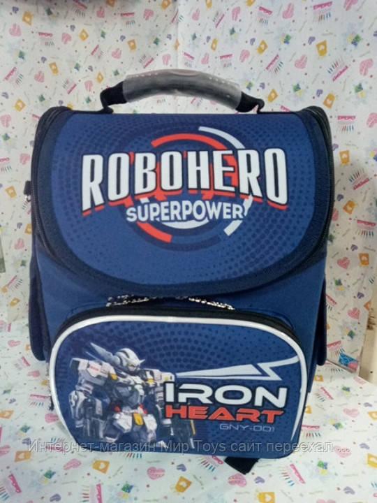 Школьный рюкзак tm Smart PG-11 тм 1 Вересня робот трансформер 553417