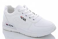 Кроссовки женские белые демисезон EICA 1147858004 38 р. 23,5 см