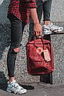 Городской Рюкзак Fjallraven Kanken Classic 16 л Канкен Бордовый, фото 5