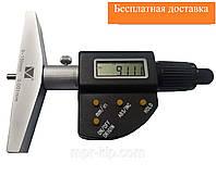Мікрометричний глибиномір цифровий ГМЦ-300 (0-300 мм; 0,001 мм; ±0,008 мм) Мікротех