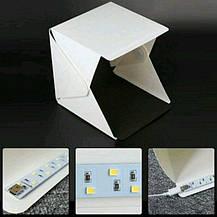 Световой Лайт бокс с 2x LED подсветкой для предметной макросъемки, фото 3