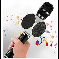 Беспроводная портативная колонка + караоке микрофон 2 в 1 SU-YOSD YS-63 Чёрный