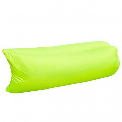 Ламзак надувной диван Lamzac гамак, шезлонг, матрас Двухслойный Салатовый, фото 2