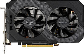 Видеокарта Asus GeForce GTX 1650 TUF Gaming OC Edition 4GB GDDR6 (TUF-GTX1650-O4GD6-GAMING) (6574478)