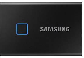 SSD накопитель Samsung T7 Touch 1TB TLC 3D (MU-PC1T0K/WW) Black (6556391)
