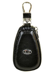 Автоключница шкіра F633 Kia black
