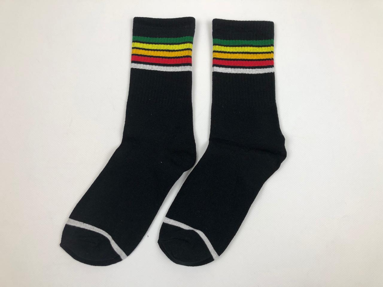Носки Пять Полос (черные)