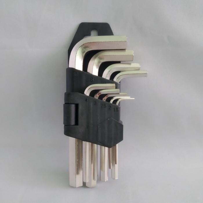 Набор шестигранных ключей Qtools 9шт малый