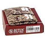 Кожаная обложка на автодокументы Butun 857-038-007 бежевая, фото 4