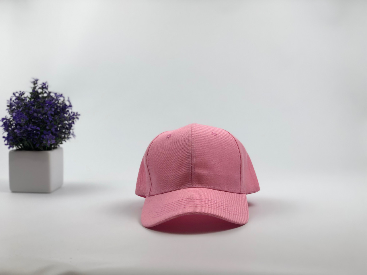 Кепка бейсболка Style (розовая)